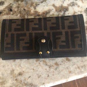 100% authentic fendi wallet